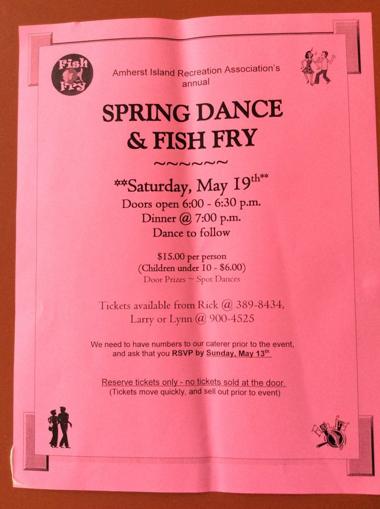 Spring Fish Fry and Dance @ AI Community Centre