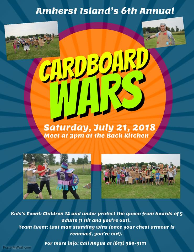 Cardboard Wars @ Meet at the Back Kitchen