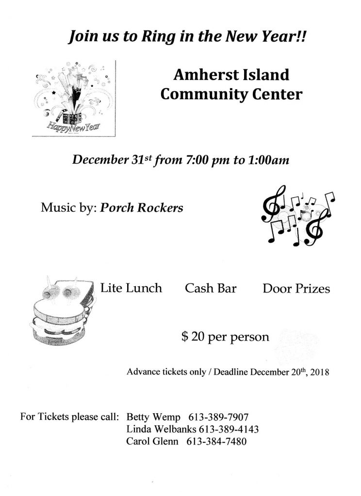 New Year's Eve Dance @ AI Community Centre
