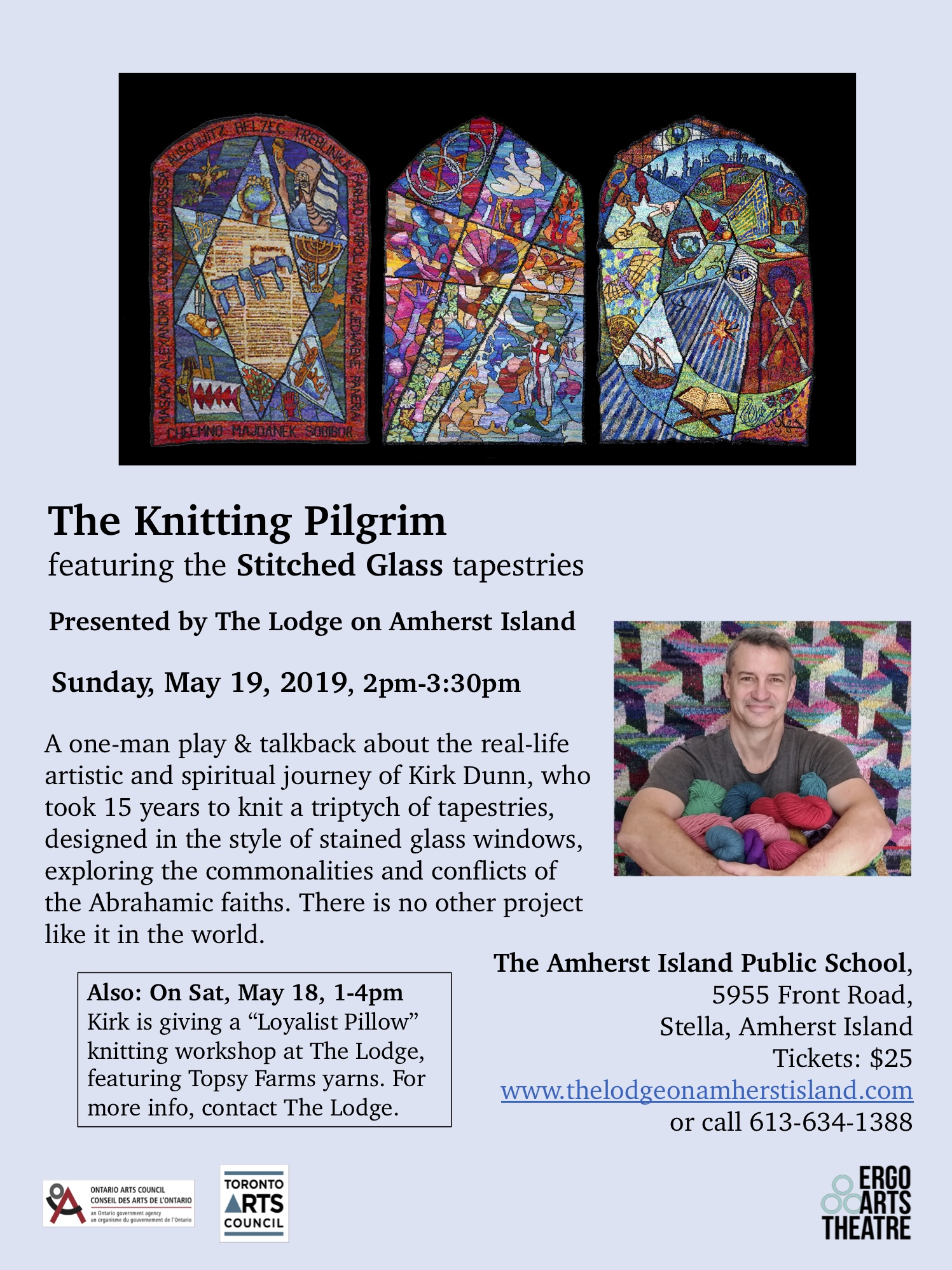 The Knittling Pilgrim @ Amherst Island Community Centre