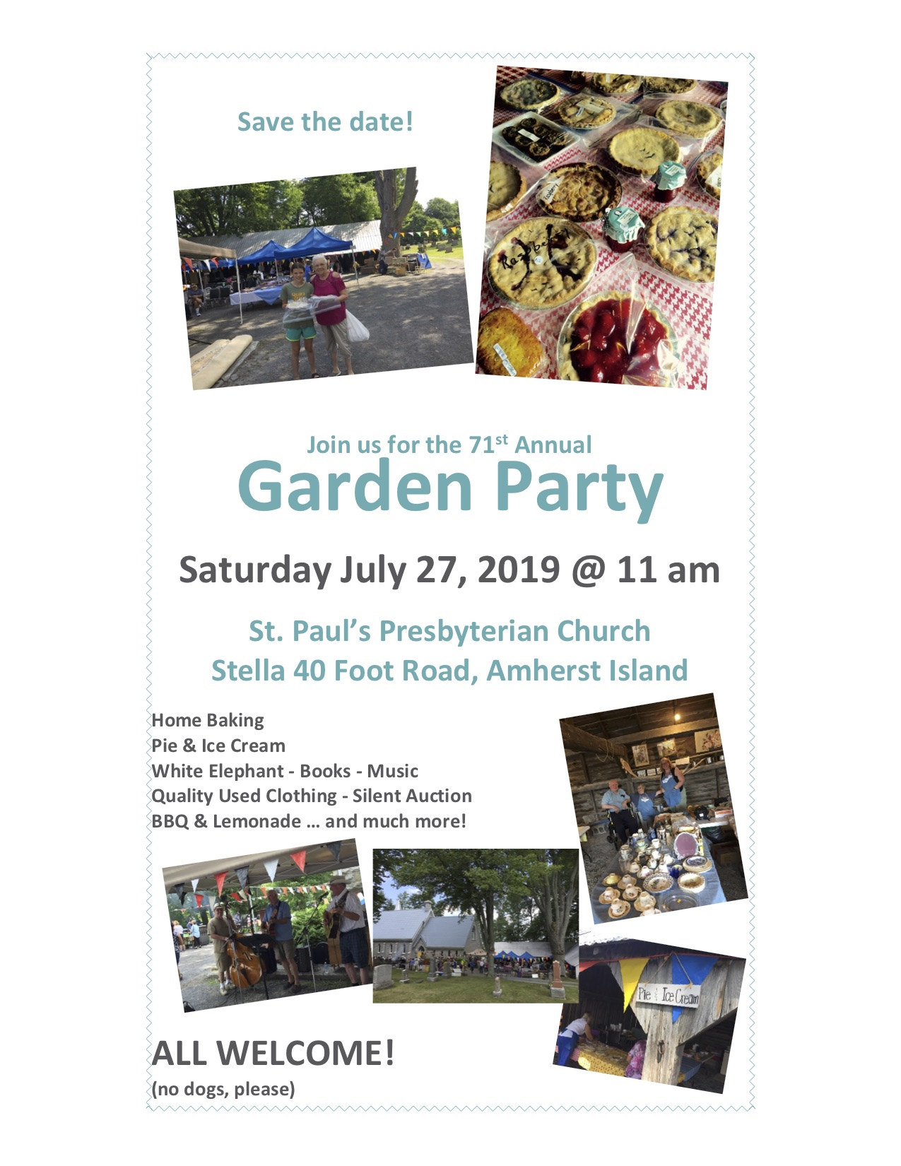 Garden Party @ St Paul's Presbyterian Church