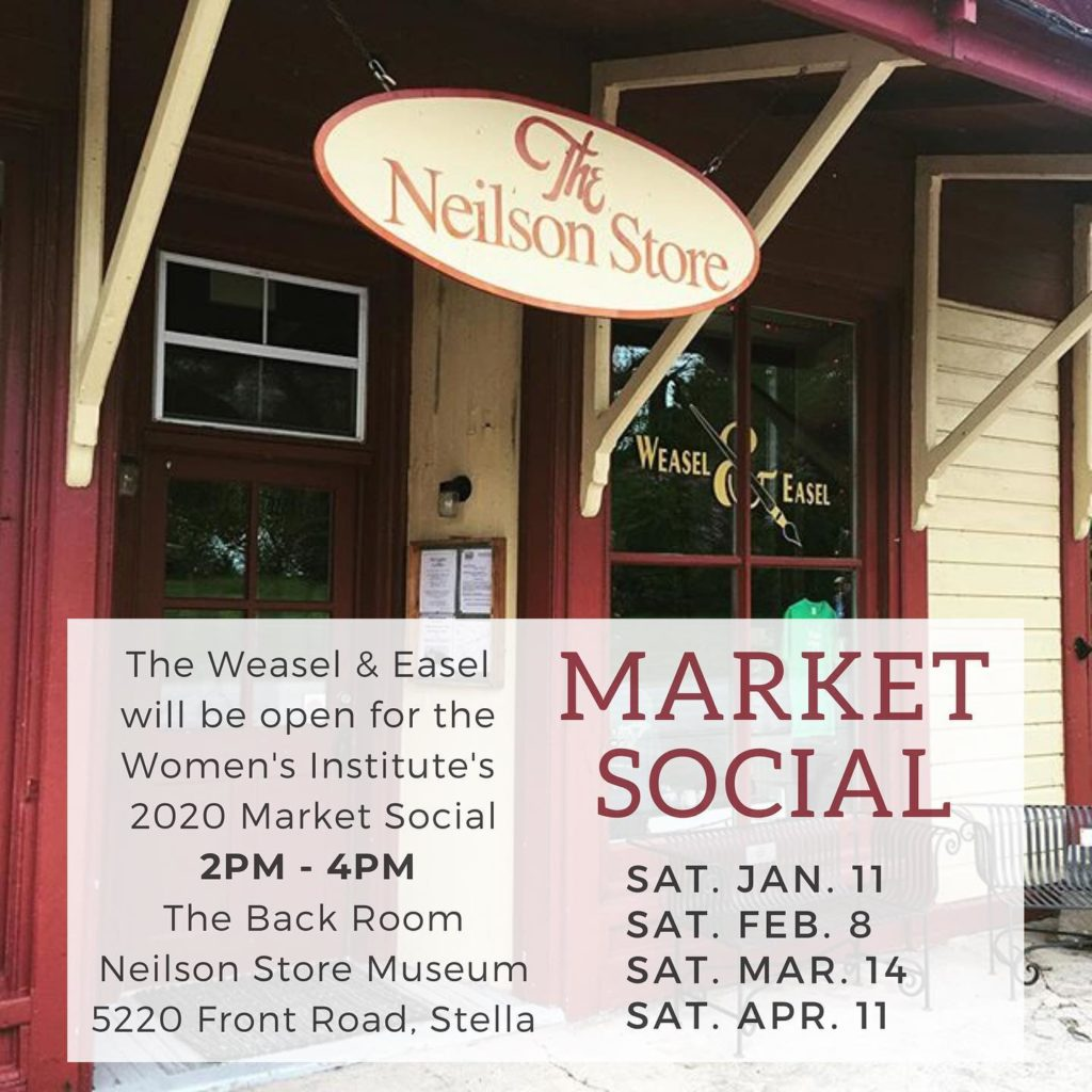 WI Market and Social @ Neislon Store Museum