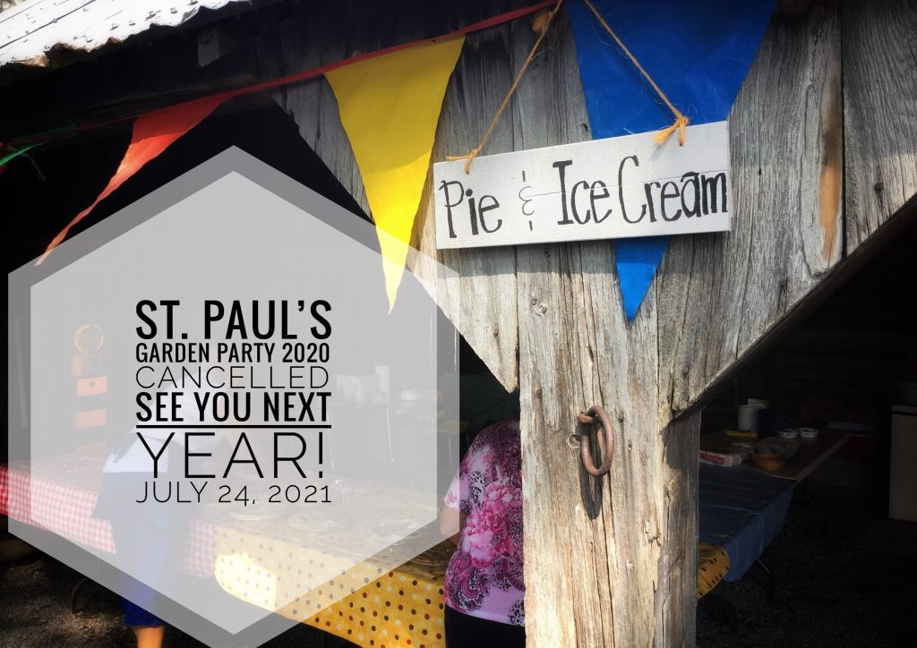 CANCELLED - Garden Party @ St Paul's Presbyterian Church